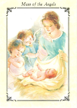 Mass of the Angels mass card