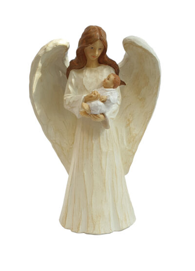 Angel and Baby Statue