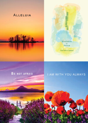 4 Greeting Cards