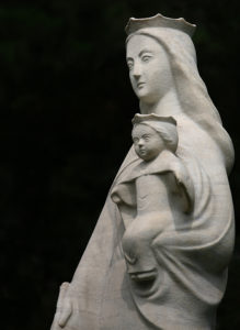 Stone Sculpture of Our Lady