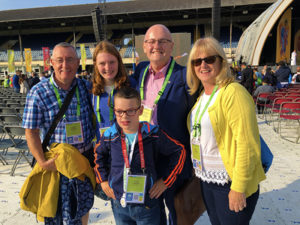 A Family at the World Meeting of Families