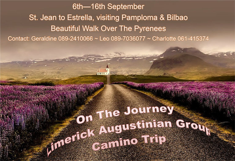 A poster advertising the Camino.