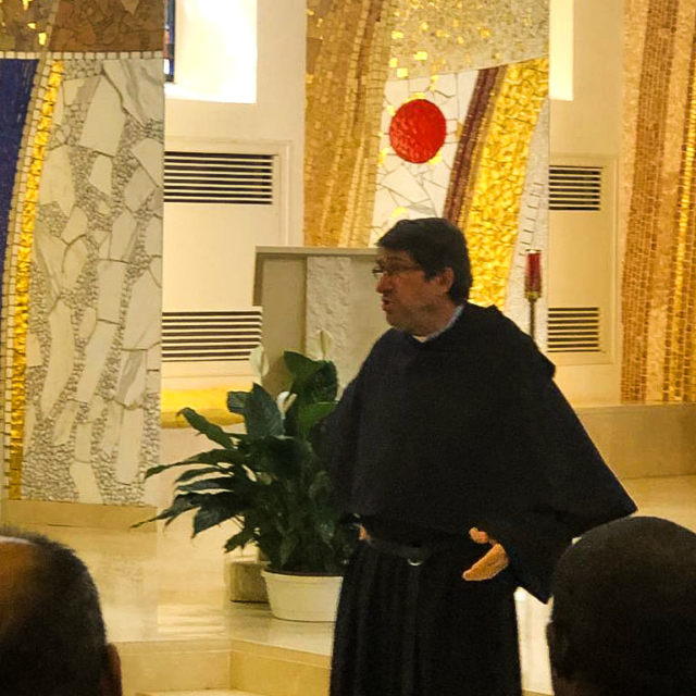 Fr. Alejandro Moral Antón, Prior General of the Augustinians.