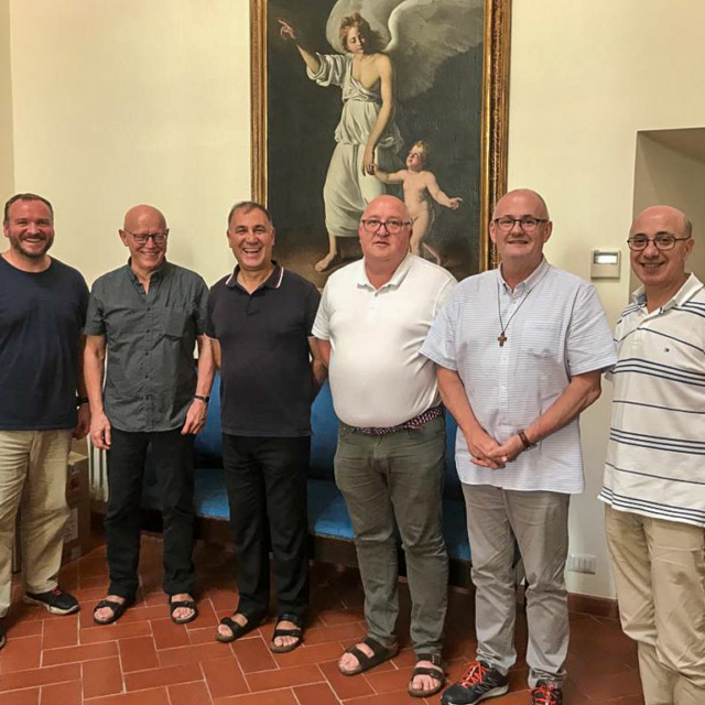 A group of Augustinians meeting together in Rome.