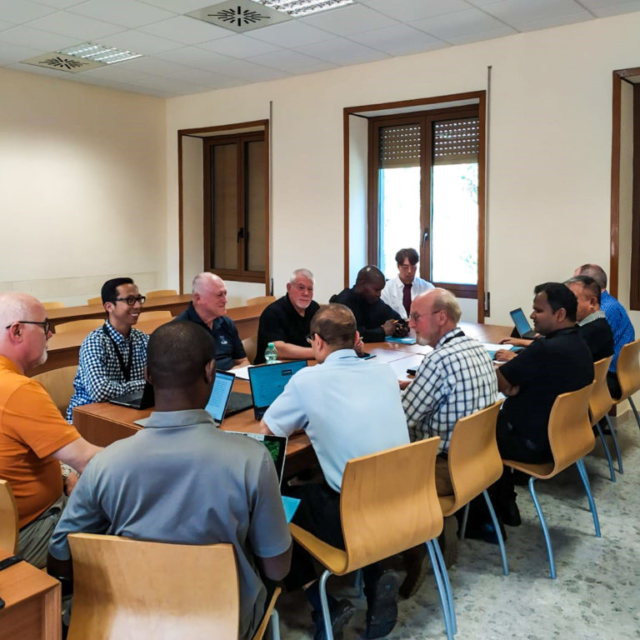 Group meetings at the Augustinian General Chapter in Rome.