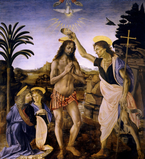 Painting of the Baptism of Christ