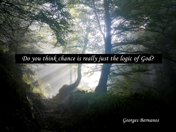 Quote from Georges Bernanos