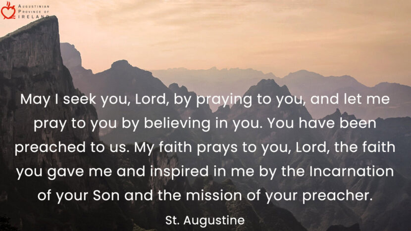 Quote by St. Augustine.