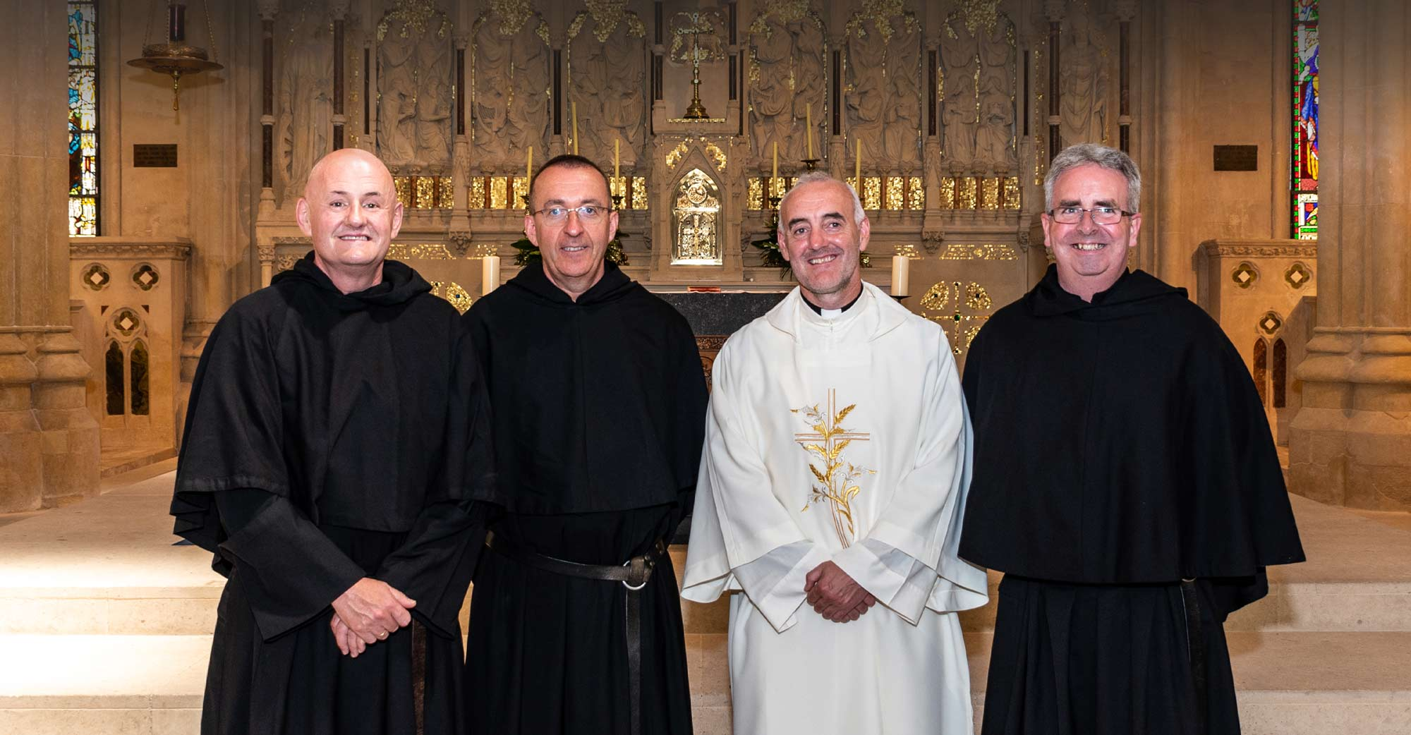 The diaconate ordination of Br. Stephen Shields OSA