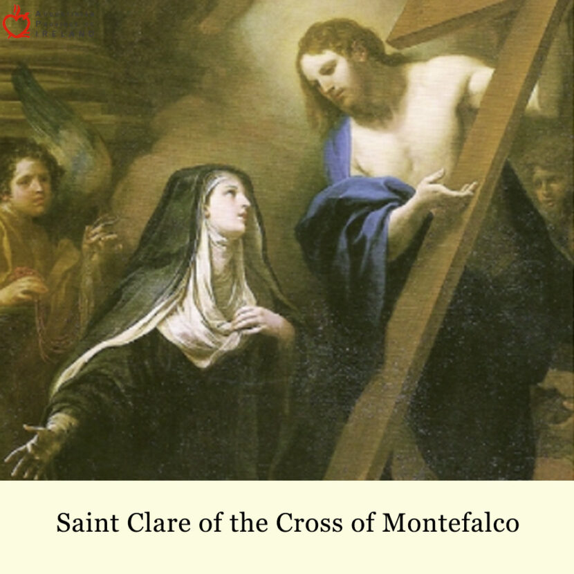 St. Clare Of The Cross Of Montefalco